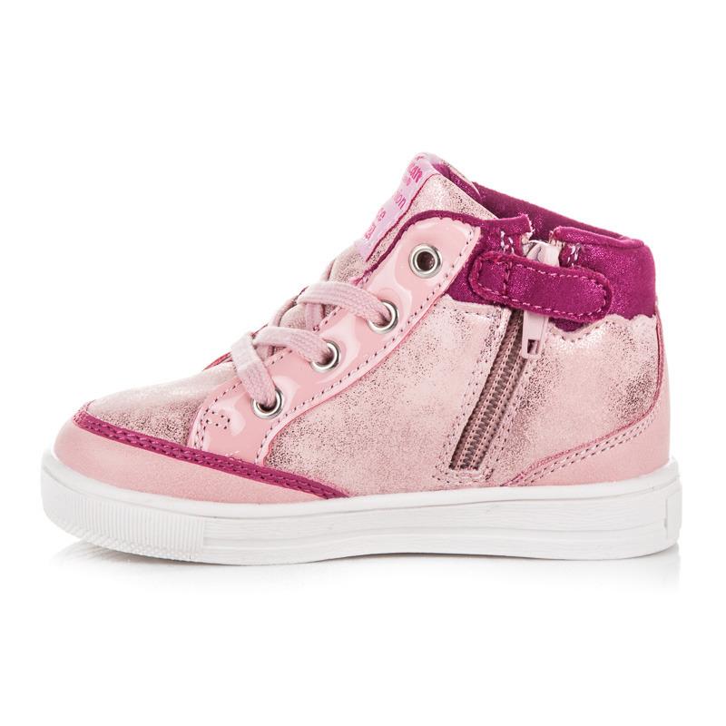 bc12807a2 Prvotriedne ružové detské kotníkové tenisky | AMIATEX.sk