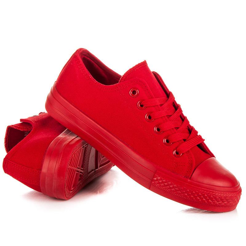 b5abc714d0568 Štýlové a módne červené dámske tenisky | AMIATEX.sk