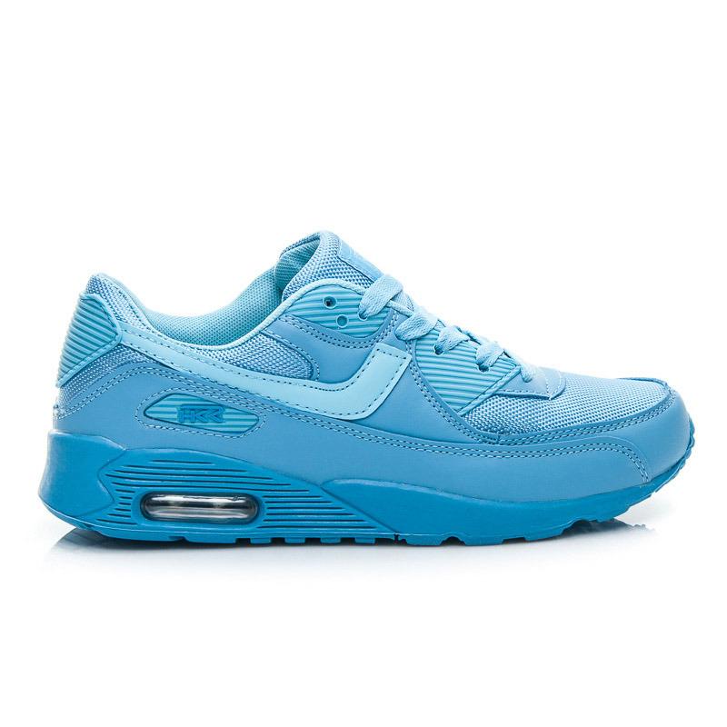 Štýlové a pohodlné dámske tenisky - modré