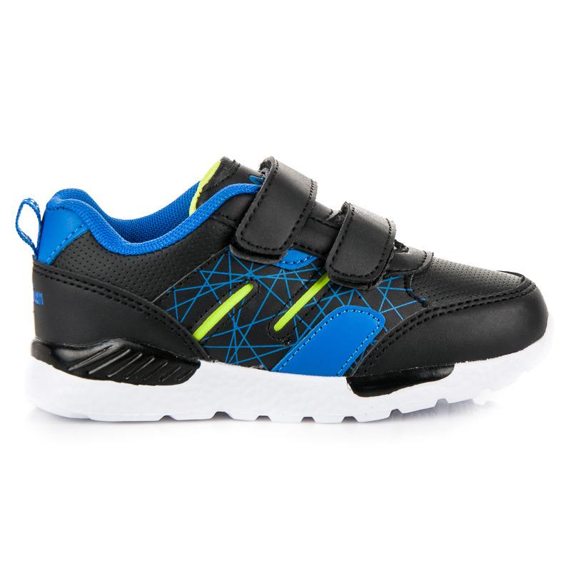 79f92235c Štýlové čierne chlapčenské kožené topánky na suchý zips | AMIATEX.sk