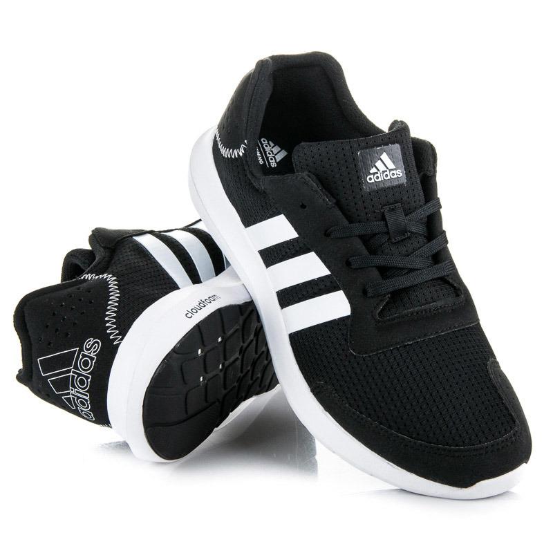 Štýlové čierne športové pánske tenisky Adidas  cd2691931db
