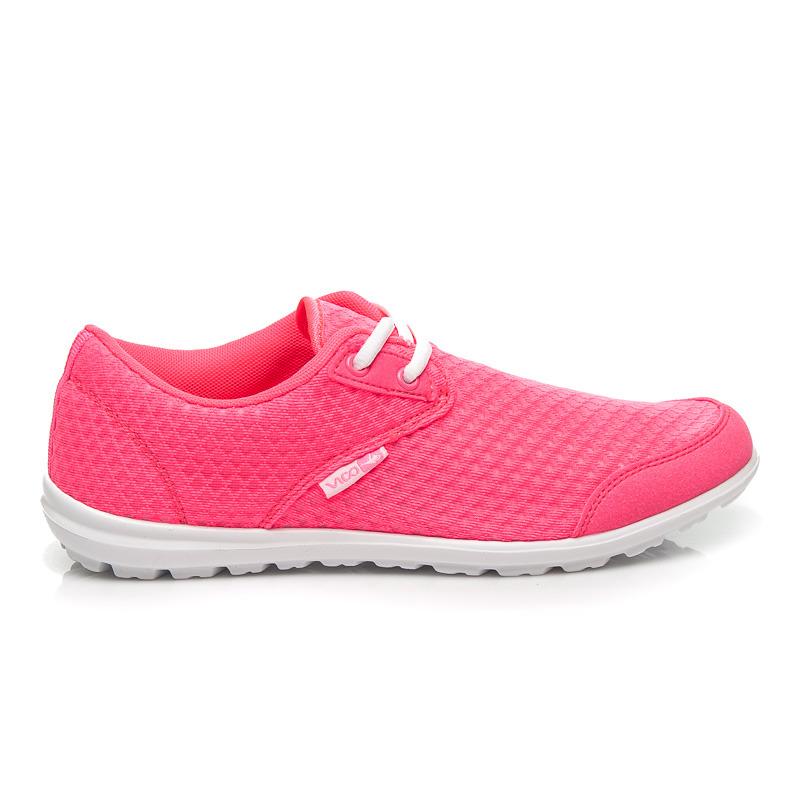 0f7e42c4674e Štýlové dámske ružové fitness športové tenisky
