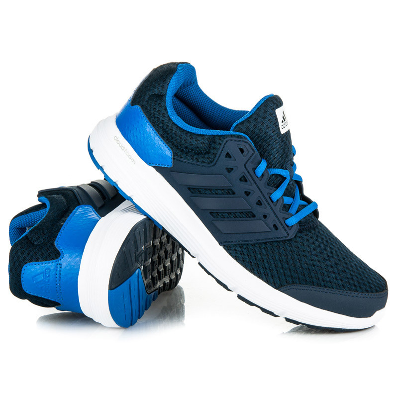 Štýlové modré športové pánske tenisky Adidas  e2f4e47889d