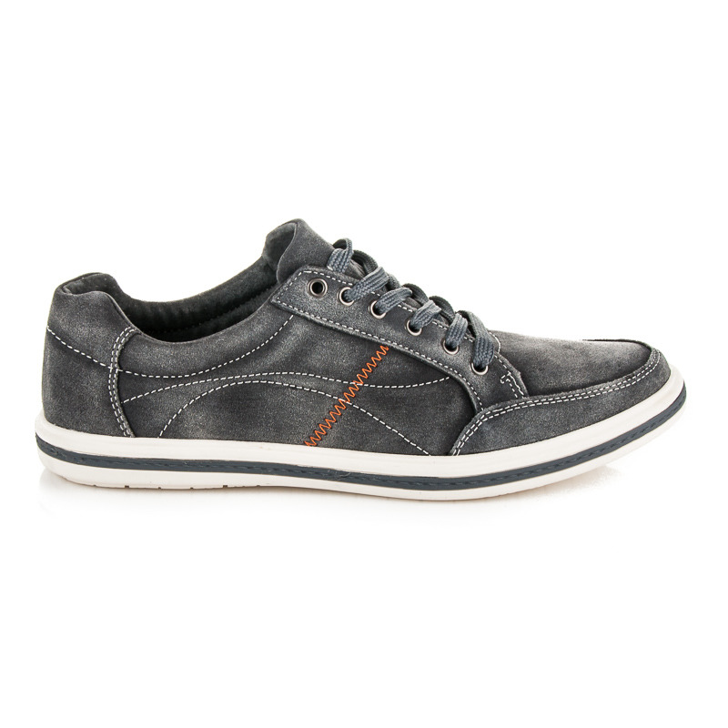 f571604993db Štýlové šedé pánske športové topánky