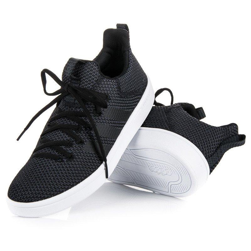 Textilné čierne pánske tenisky značky Adidas 1bc2edecb33