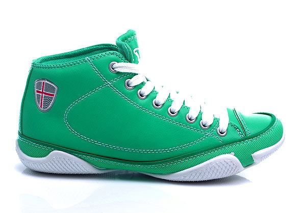 Úžasne pohodlné zelené členkové tenisky