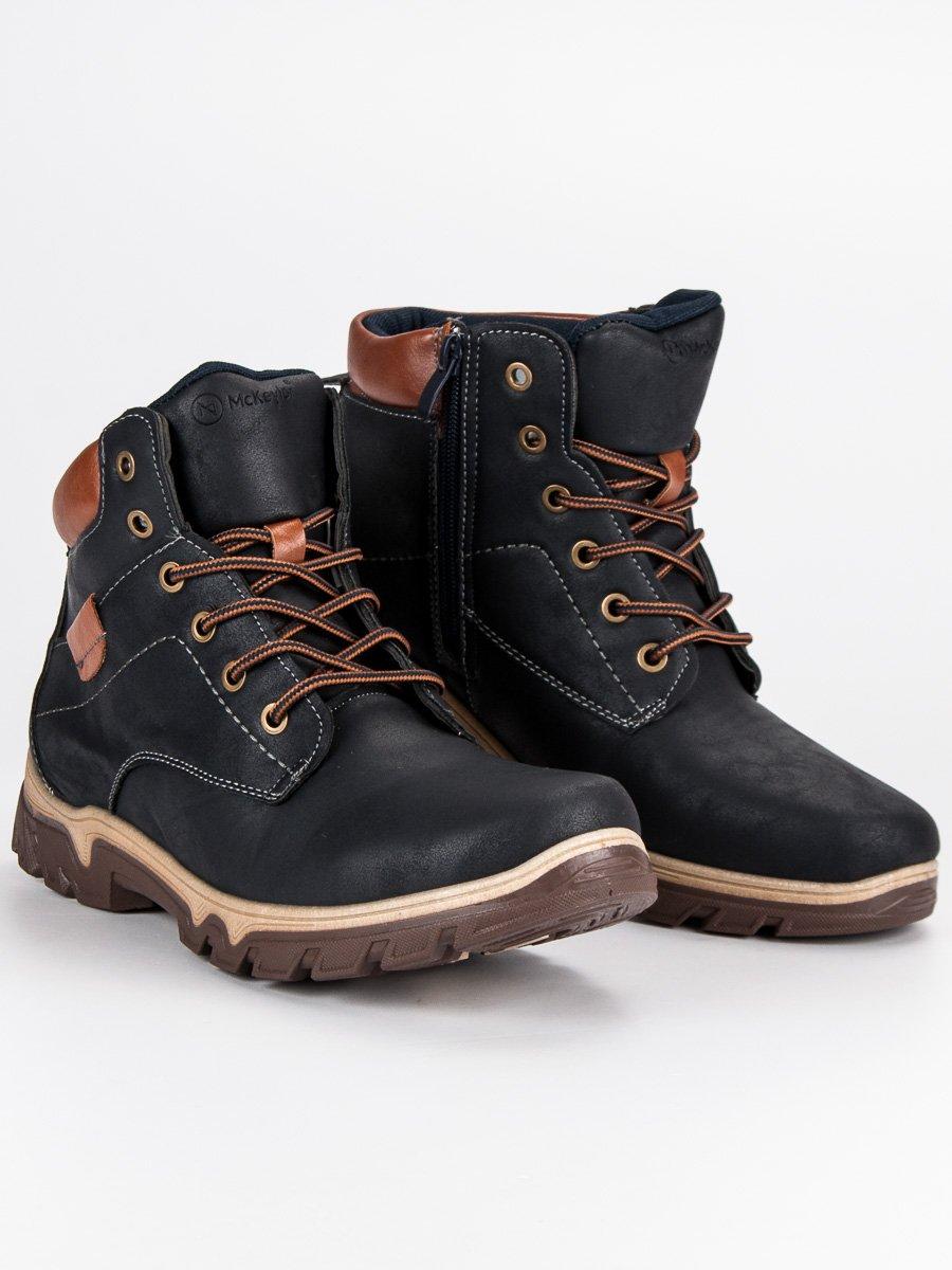 919929b6f3cd8 Zateplené modré pánske členkové topánky | AMIATEX.sk